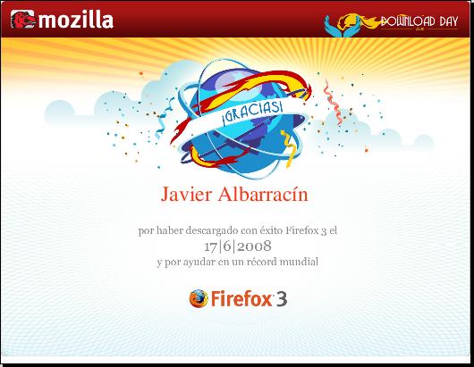 Firefox Certificado